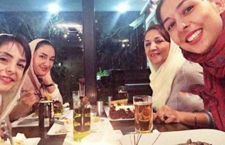 عکس های لو رفته از هانیه توسلی و خواهرانش