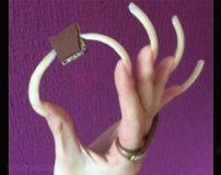ناخن های بلند یک دختر در اینستاگرام سوژه شد