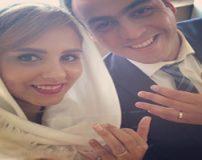 عکس های لو رفته از مراسم ازدواج دختر اکبر عبدی