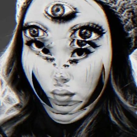 آرایش های سه بعدی وحشتناک روی صورت دختران + تصاویر