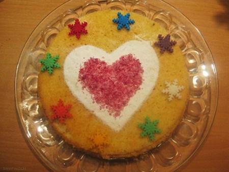 طرز تهیه کیک یزدی بصورت تصویری