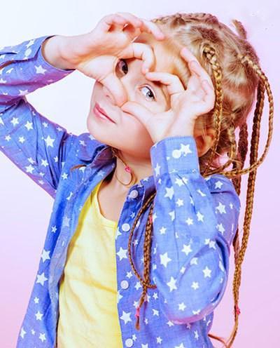 انواع مدل مو دختر بچه ها با طرح های جدید و شیک
