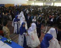 شب زفاف گروهی در کشور افغانستان + تصاویر
