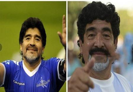 تصاویر بدل بازیکنان فوتبال دنیا