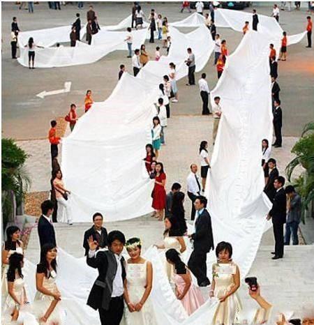 جالب ترین مراسمات شب زفاف در کل دنیا + تصاویر