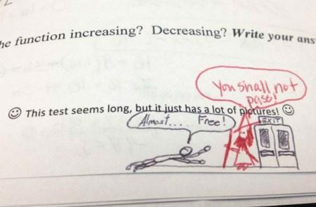 عکس های خنده دار از کارهای بامزه معلمان سر کلاس درس
