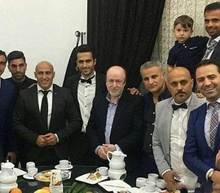 عکس های لو رفته شب عروسی علی قربانی بازیکن فوتبال