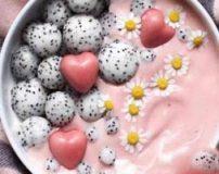 غذاهای خوشمزه رنگارنگ خارجی