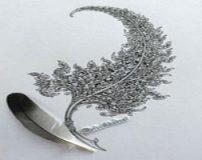 زیباترین طرح های روی کاغذ ترسیم شده با مداد
