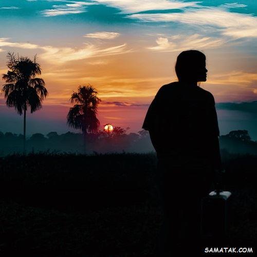 عکس پروفایل غروب آفتاب | عکس غروب خورشید با کیفیت بالا
