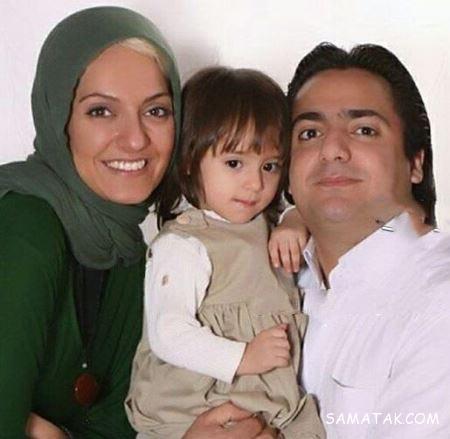 تصاویر مادر و برادر مهناز افشار