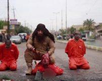 بریدن سر انسان های بی گناه بدست ابوعایشه (تصاویر 16+)