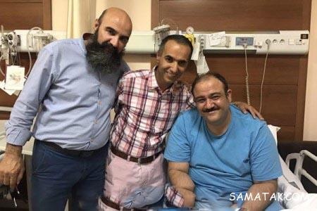 بیماری مهران غفوریان و بستری شدنش در بیمارستان