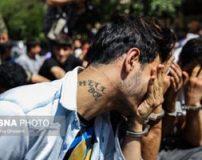 دستگیری اراذل و اوباش توسط نوپو
