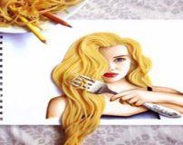 نقاشی های ترکیبی با اشیا