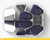 چیدمان صندلی های هواپیما