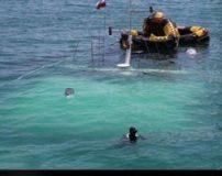 حادثه تلخ غرق شدن کشتی مسافربری در کیش