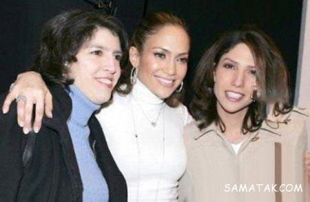 عکس های مادر جنیفر لوپز در کنار خواهرش