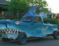 ماشین های عجیب و تیونینگ در دنیا + تصاویر
