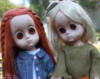 وحشتناک ترین عروسک ها با ظاهری شیطانی