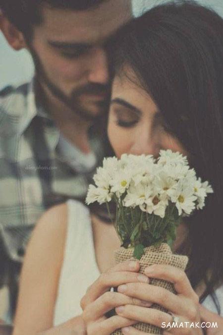 عکسهای عاشقانه بوسیدن و آغوش