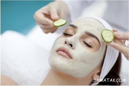 طرز تهیه انواع ماسک صورت با خیار