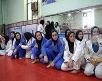 تمرینات تیم ملی جودوی دختران ایرانی در همدان