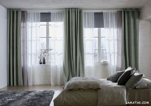 مدل پردهای جدید اتاق خواب 2021