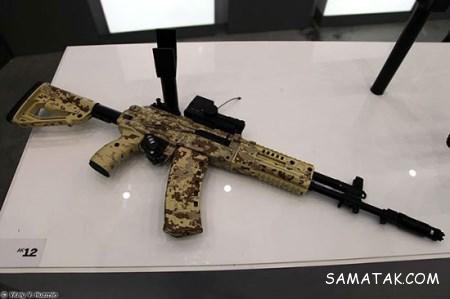 اسلحه جدید AK-12 سلاح انفرادی محصول روسیه