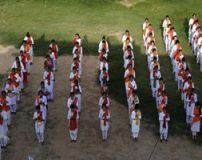 دختران خوشگل هند در کلاس دفاع شخصی + تصاویر
