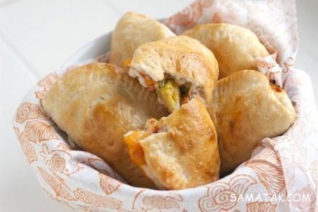 طرز تهیه پیتزا لقمه ای با خمیر یوفکا