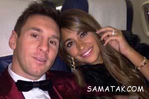 شب زفاف لیونل مسی و همسرش آنتونلا روکوزو + تصاویر