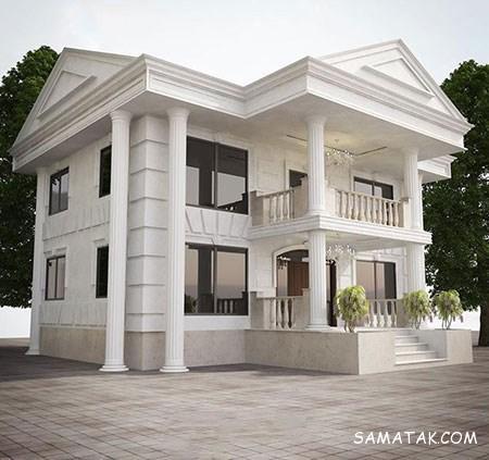 طراحی نمای داخلی و خارجی خانه دوبلکس
