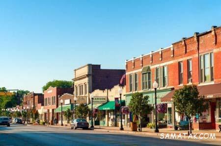 خیابان های زیبای آمریکا