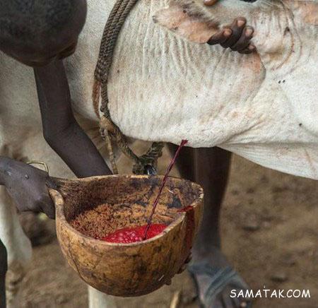 قبیله وحشتناک خون آشام ها در آفریقا + تصاویر