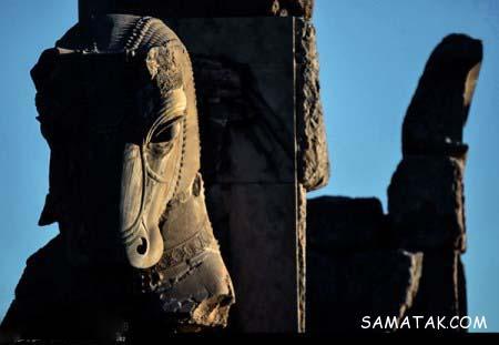 تصاویر تخت جمشید قبل از تخریب