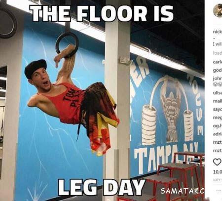 قدرتمند ترین ورزشکار بدون دست و پا در جهان + تصاویر