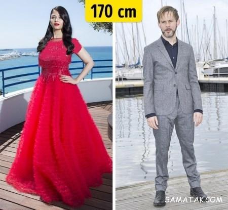 قد خوانندگان مرد ایرانی قد بازیگران هالیوودی چقدر است؟ mimplus.ir