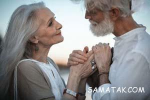 عکس های عاشقانه پیرمرد و پیرزن
