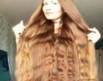 بلندترین موی زن دنیا