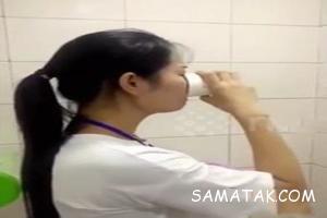 خوردن ادرار داخل چاه توالت تنبیه چندش آور چینی ها + تصاویر