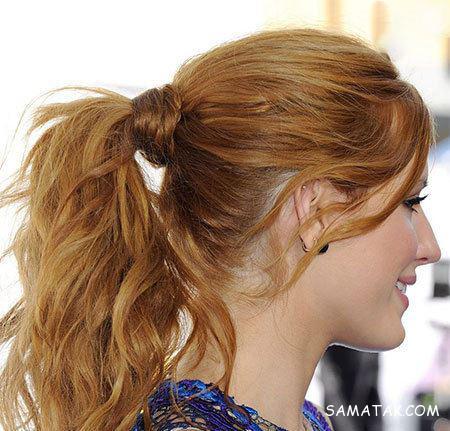 مدل موهای دم اسبی ستاره های هالیوودی