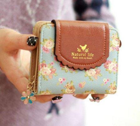 کیف پول دخترانه اسپرت