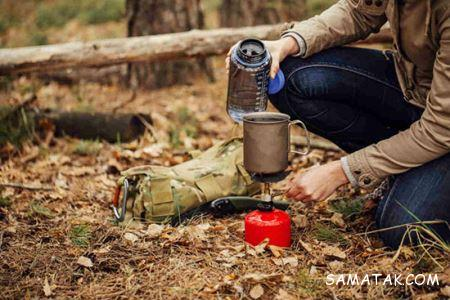 اصول کمپ زدن در جنگل و ساحل