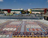 زیباترین سنگ فرش دنیا در خیابان منصور تبریز + تصاویر