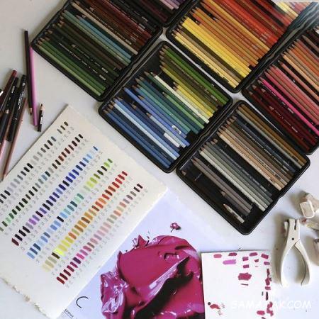 نقاشی های خارق العاده با مداد رنگی