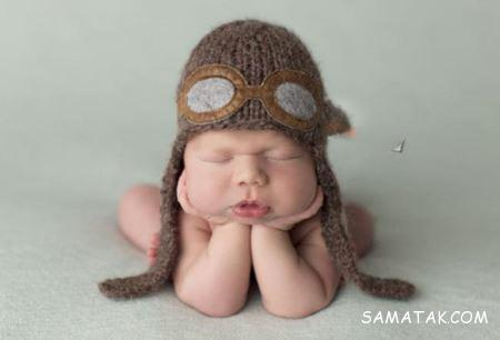 نوزادان دختر خوشگلی که خوابیده اند + تصاویر