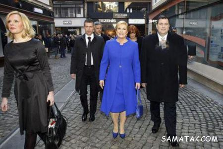 تیپ های جنجالی رئیس جمهور زن کرواسی + تصاویر