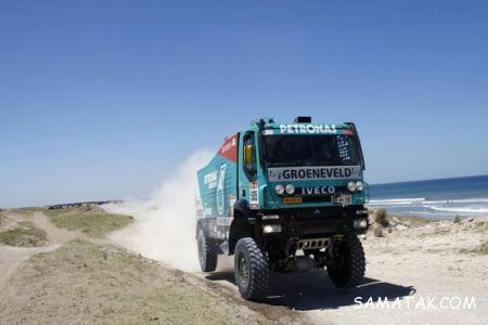 رالی کامیون داکار + تصاویر
