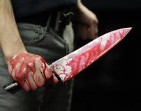 زنی که با ضربات چاقو به قتل رسیده بود جنازه اش کشف شد + تصاویر